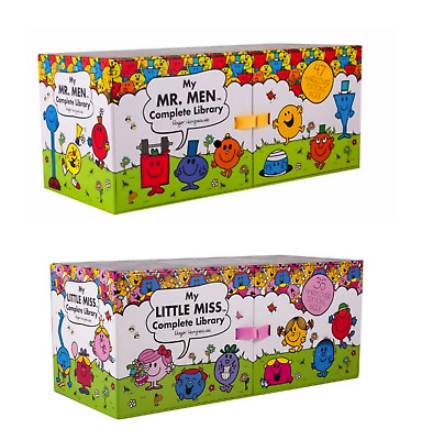 NEW Mr Men & Little Miss Complete Libraries Both Book Sets! *FREE AU SHIPPING!*