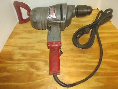 "Milwaukee 1854-1 Heavy Duty Super Hole Shooter 3/4"" Corded Drill/Driver LQQK!"