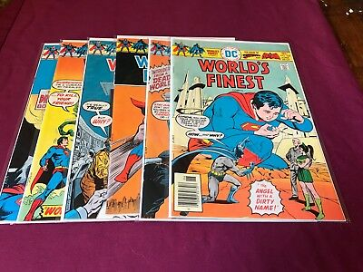 Worlds Finest Lot  #232,233,234,235,237, & 238 (6 issues) VF
