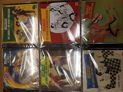 Hillbilly Bop, Boogie & The Honky Tonk Blues Vol 1-6 - 12 CDs In All - BRAND NEW