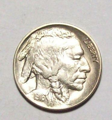 1916-P BUFFALO NICKEL Indian Head   Nice Choice BU   #11B71