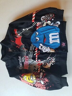 "M&M's boy's twill jacket "" size 7 "" Brand J.H. design Preowned"