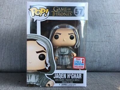 Funko Pop Jaqen H'ghar #57 NYCC 2017 FALL CONVENTION EXCLUSIVE Game of Thrones