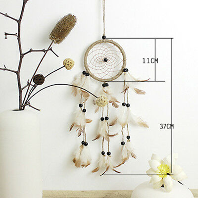 Wall Craft 16 Decor Black Dream Catcher Gift Lace Hanging Pendant Boys Feather