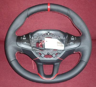 Reinforced Steering Wheel For A Peugeot 208 Sedan