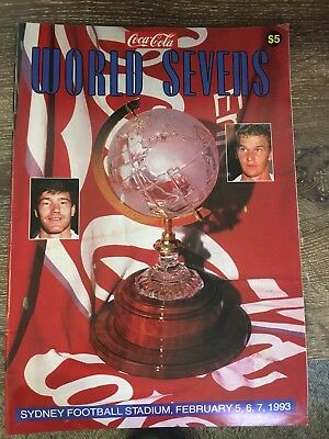 Rugby League World Sevens 1993 programme