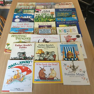30 Quality AUSTRALIAN CHILDREN'S PICTURE BOOKS Mem Fox, Kel Richards, Nick Bland