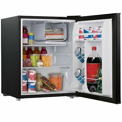 Mini Fridge Refrigerator With Small Freezer For Room Office Compact 2.7Cu  Cooler