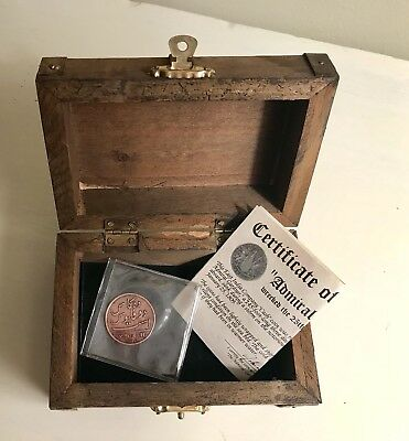 "1808 East India Company ""Cash"" Coin from Admiral Gardner Shipwreck 1809"
