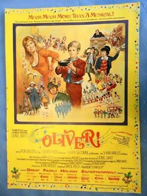 60s Original AUST. Vintage AD ~ OLIVER THE MOVIE  #32
