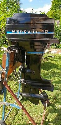 Mercury Outboard 40HP motor - EXC COND - Pick up 4127