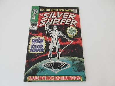 The SILVER SURFER No 1 -  ORIGIN OF SILVER SURFER AND THE WATCHER Aug 1968- vgc