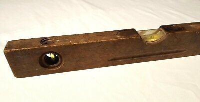 Vintage German Made Spirit Level - Awesome Collector Piece. Kirchenlaibach