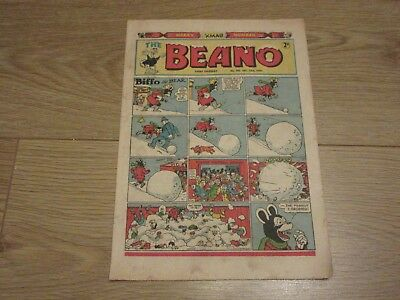 BEANO COMIC No 440, December 23rd 1950- Christmas issue, Good Condition