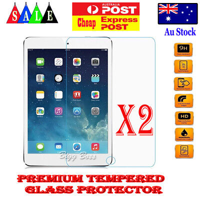 2X Tempered Glass Screen Protector for Apple iPad Pro 9.7 10.5 11 12.9 2017 2018