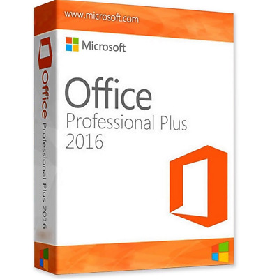 Microsoft Office 2016 Pro Professional Plus Windows 32/64 bit Activation KEY