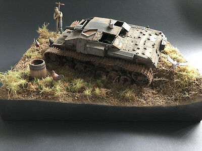1/35 Diorama The End, pro built, professionell gebaut