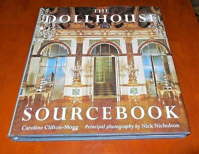 """The Dollhouse Sourcebook"" by Caroline Clifton-Mogg - Book with Fabulous Pics!!"