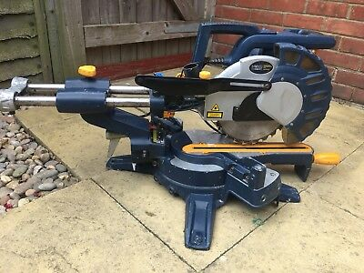 Macalister double bevel slide mitre saw 1800W used