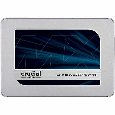 "Crucial 500GB SATA 2.5"" SSD MX500 560MB/s Laptop & PC Internal Solid State Drive"