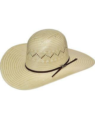 d8c0c96b160 HOOEY BY RESISTOL Men s Natural Pecos Straw Cowboy Hat - RSHOPC ...