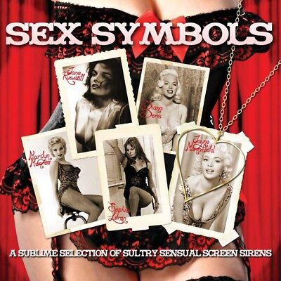 Sex Symbols - A Sublime Selection Of Sultry Sensual Screen Sirens 2CD NEW/SEALED