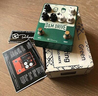 Keeley D&M Drive; Limited Edition (That Pedal Show) Boutique Overdrive