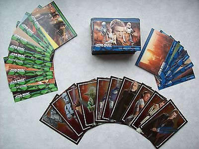 Star Wars - Episode 2 - Attack of the clones - Movie Cards 105 Stück - komplett