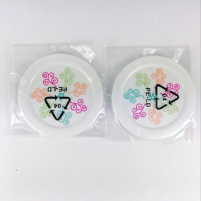 """American Girl Gourmet Kitchen Dinner lunch 2pcs Plates for 18"""" doll NEW"""