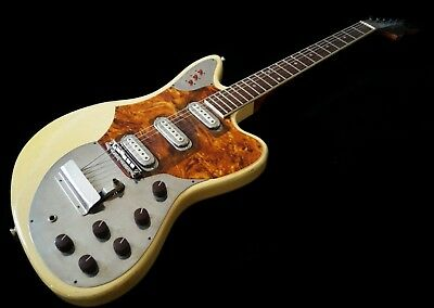 '60s Vintage Framus Strato Deluxe Guitar, Made in W. Germany