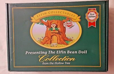 Eflin Plush Bean Doll Collection from the Hollow tree 1st Edition Set of 4 NIB