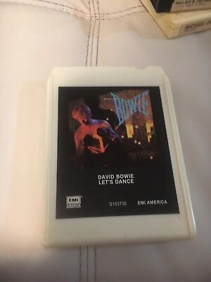 David Bowie Let's Dance 1983 Columbia Record Club 8 Track Tape