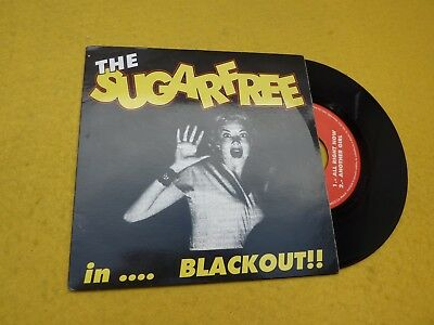 "The Sugarfree ‎– In...Blackout! (EX/EX) Matarife records EP 4 tracks 7"" single ç"