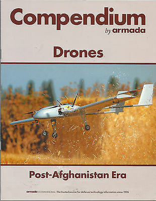Drones Magazine Compendium by Armada 34 Pages Includes Drone Poster Mint LooK !!
