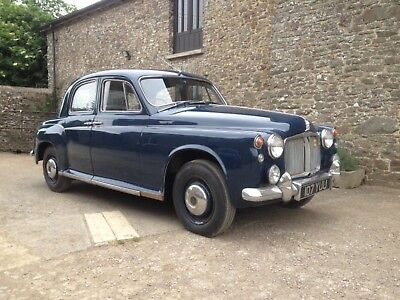 Rover P4 100 - Overdrive - Full Tool Tray - 3 Owners - 1961 - Royal Blue.