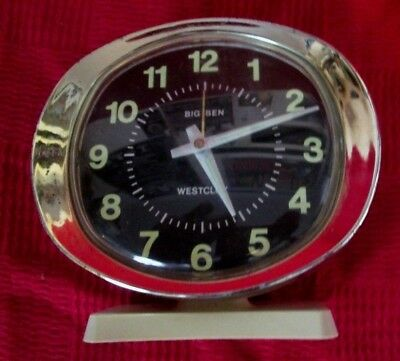 VINTAGE BIG BEN ALARM CLOCK WIND UP BY WESTCLOX ** Spares or Repair **