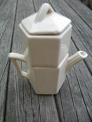 Vintage McCoy Pottery Single Small Drip Coffee Pot Maker
