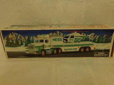 Hess Toy Truck and Helicopter 1995 MIP