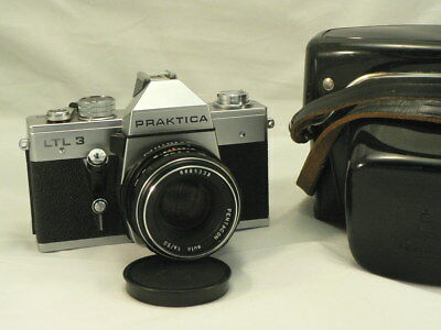 Praktica LTL 3 SLR 35 mm mit Pentacon auto 1,8/50 mm -top-