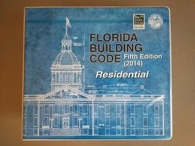 2014 Florida Residential Building Code 5th Edition in Pre-Tabbed Binder