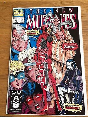 The New Mutants #98 - 1St Deadpool & Domino Excellent Condition *no Reserve*
