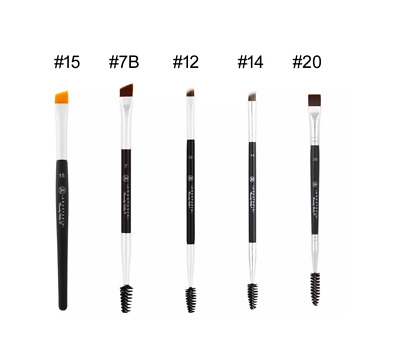 NEW ANASTASIA Duo Brush #7 #12#14 #15 #20 Double-ended Eye Brow/Liner Beauty