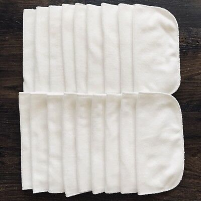 Lot Of 18 New Washed Only GroVia Cloth Wipes
