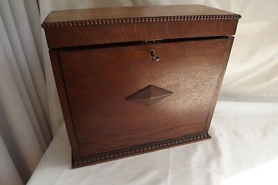 antique wooden cutlery box