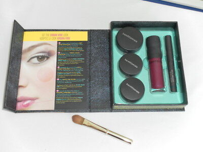 Bare Minerals Face Fashion Lidschatten, Eyeliner, Rouge & Lipgloss 5tlg.fast neu