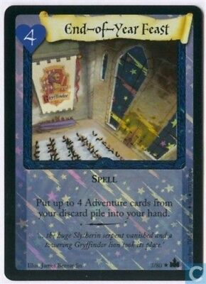 Harry Potter Adventures of Hogwarts Foil Card *End of Year Feast* TCG CCG