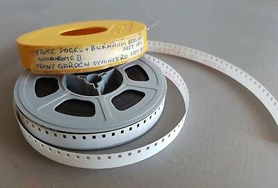 8mm projector home movie. Stoke Poges & Burnham on sea Beeches 1972 Staines rd