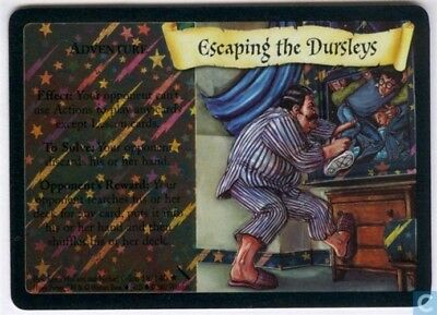 Harry Potter Chamber of Secrets Foil Card *Escaping The Dursleys* TCG CCG