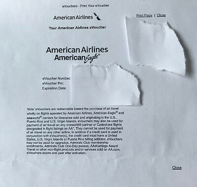 4 - 50$ ($200 Value) American Airlines Gift Cards