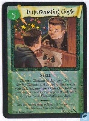 Harry Potter Chamber of Secrets Foil Card *Impersonating Goyle* TCG CCG